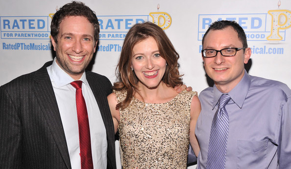 David Rossmer, Sandy Rustin and Dan Lipton